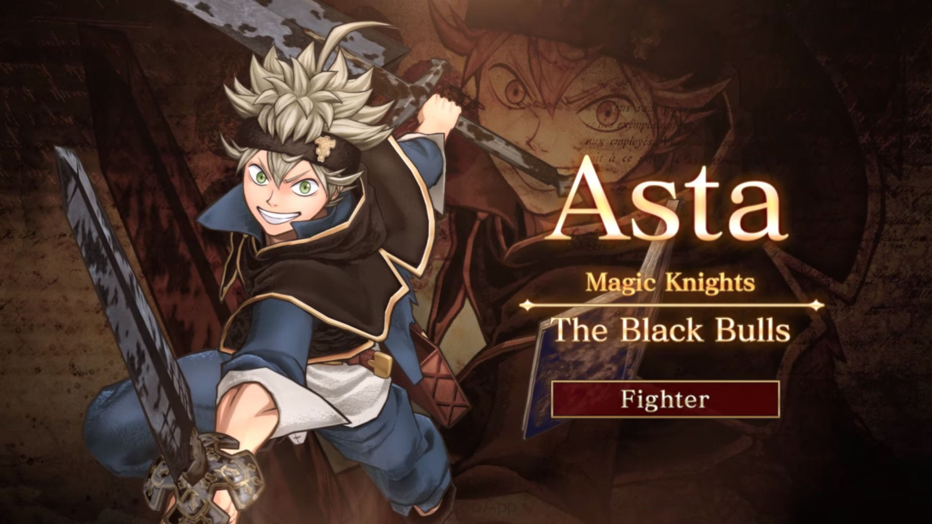 Black Clover: Quartet Knights TIC