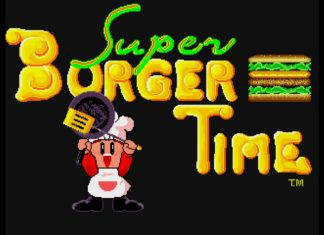 Super BurgerTime-Tic