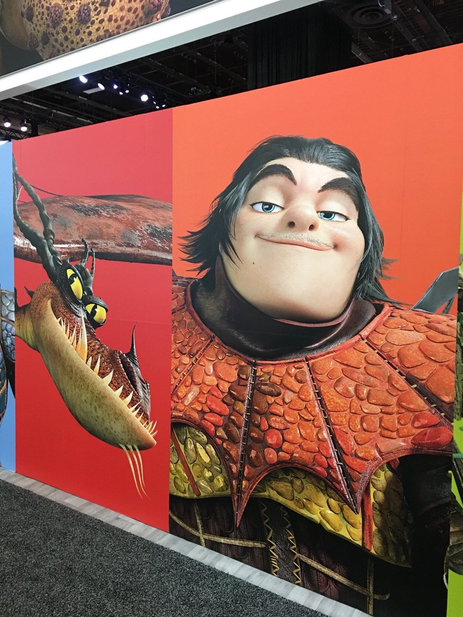 how to train your dragon show characters