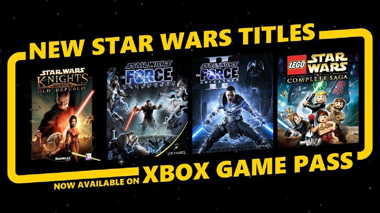 Star Wars Games Added to Game Pass