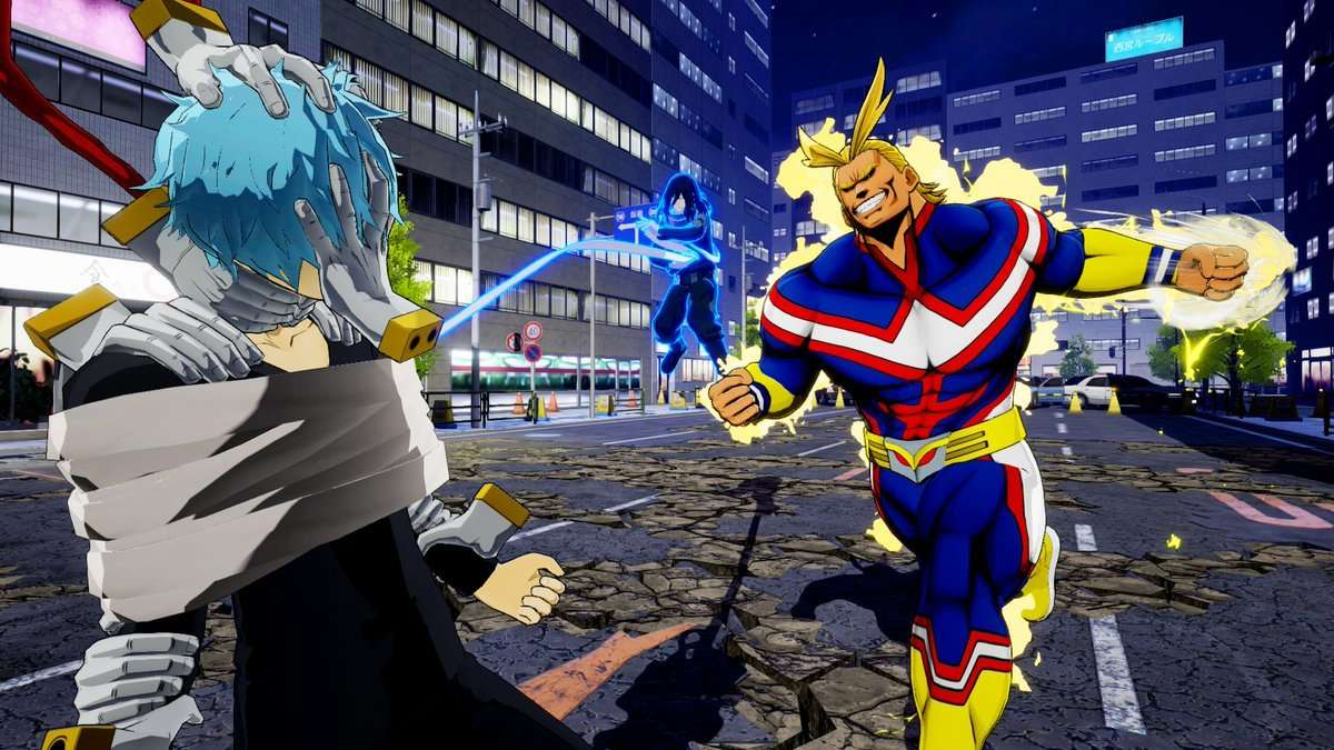 My Hero Academia One's Justice 2-TICGN